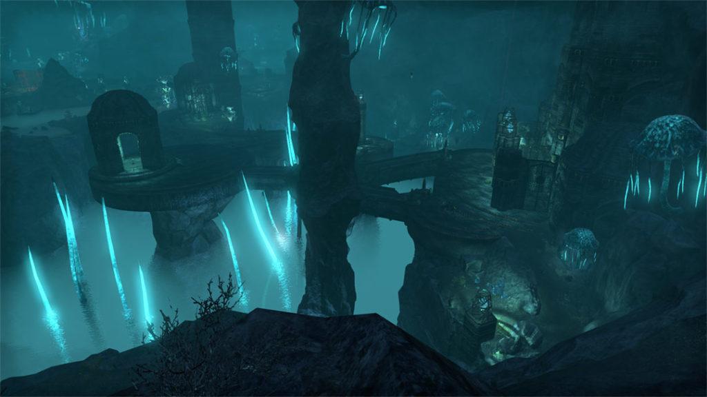 La quest The Coven Conspiracy ci porta a visitare Blackreach anche in The Elder Scrolls Online
