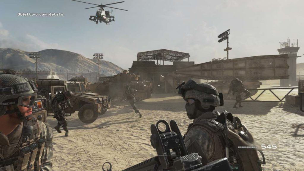 Call of Duty®: Modern Warfare® 2 Campaign Remastered_2 campo d'addestramento
