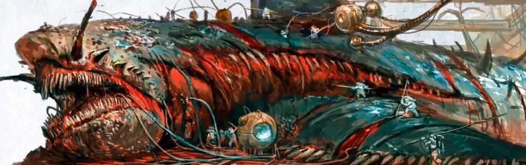 Un Megalofin dei Reami Mortali