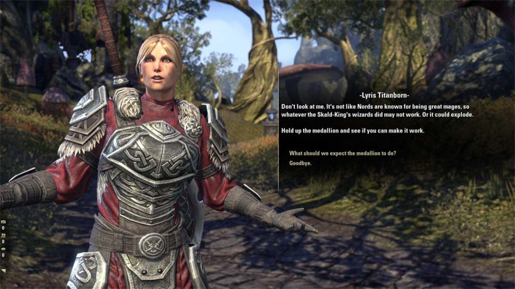 Lyris Titanborn, celebre NPC di The Elder Scrolls Online