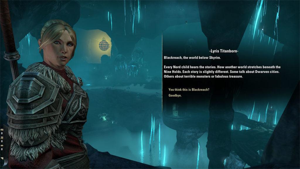 Lyris Titanborn scopre Blackreach