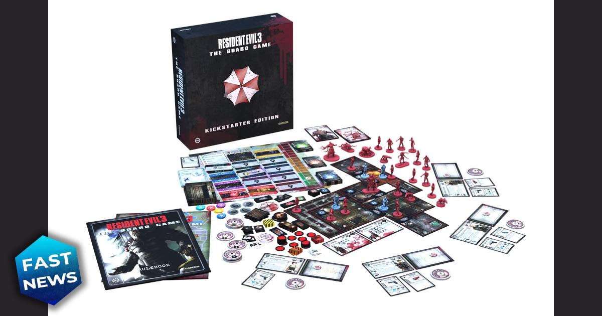 Resident Evil 3: The Board Game, Resident Evil 3: Remake, Resident Evil, Capcom, Steamforged