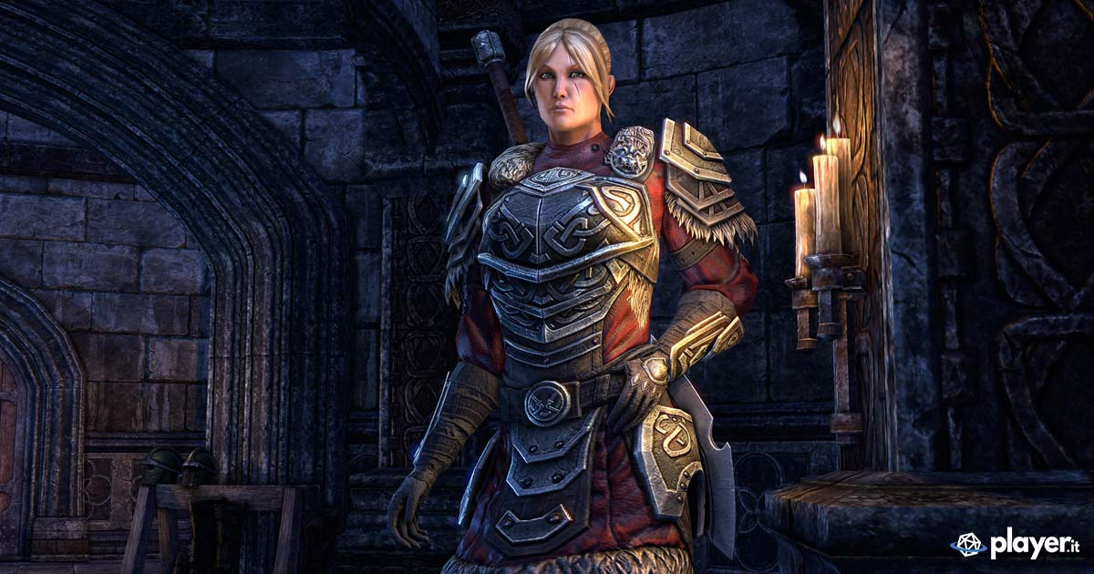 Lyris Titanborn in The Coven Conspiracy, la quest introduttiva per The Elder Scrolls Online - Greymoor