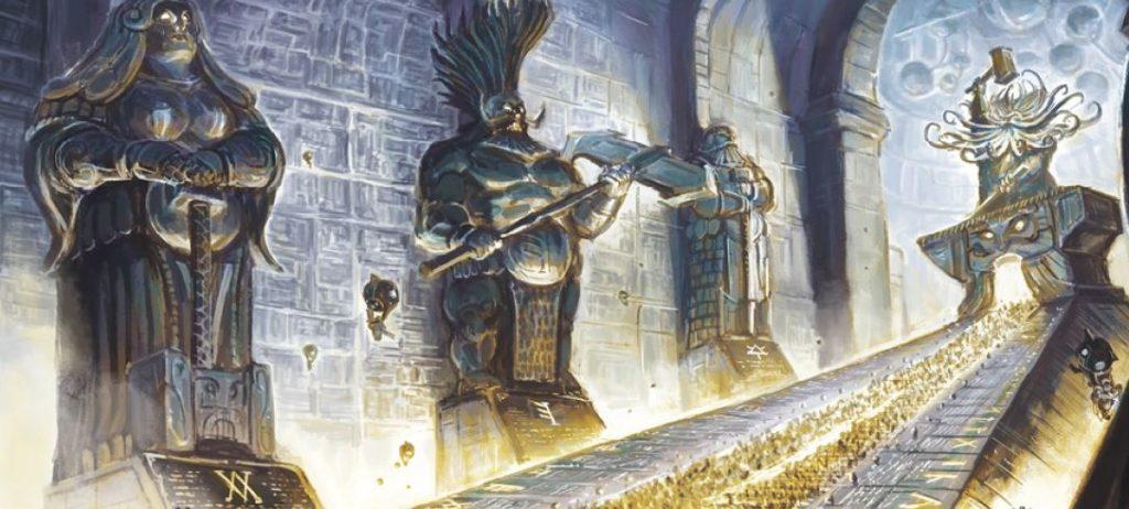 Statue di progenitori dei Kharadron di Warhammer Age of Sigmar