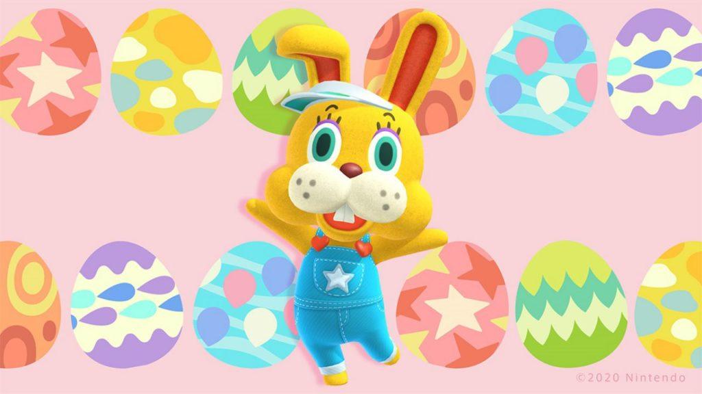 Bunny e le uova pasquali