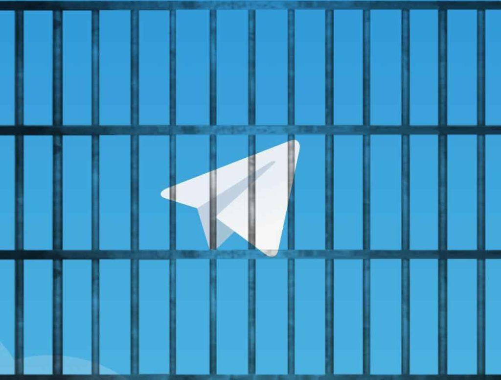 chiudere telegram