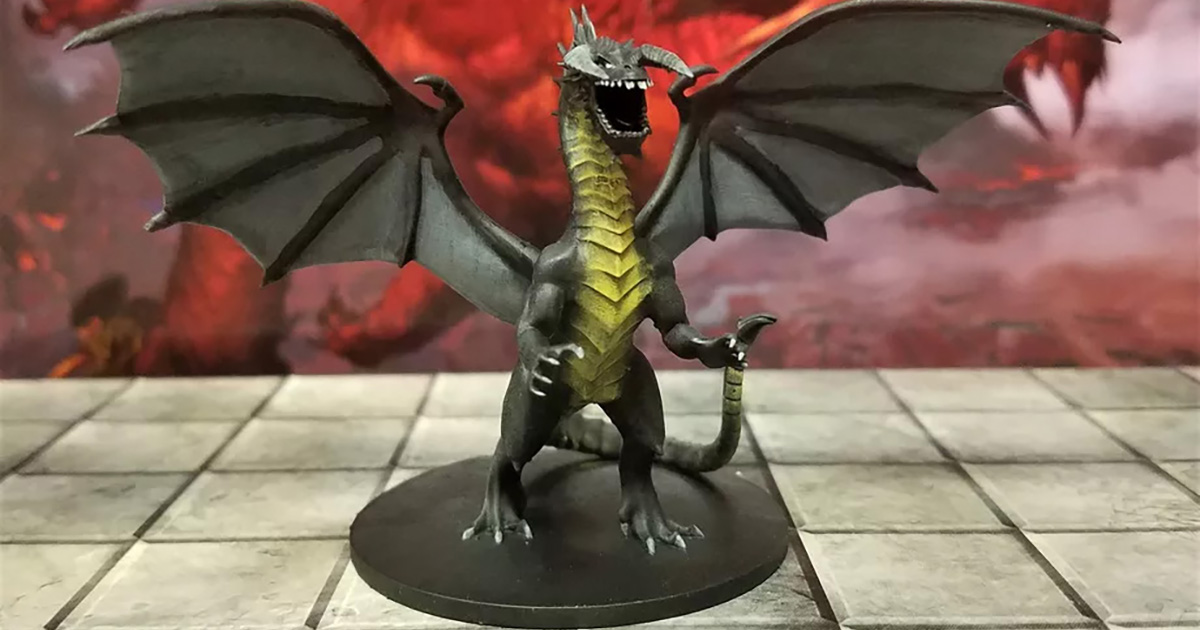 dungeons & dragons miniature 3d gratis