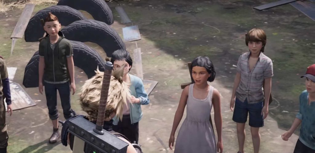 Final Fantasy 7 Remake guida incarichi secondari  bambini spada legno