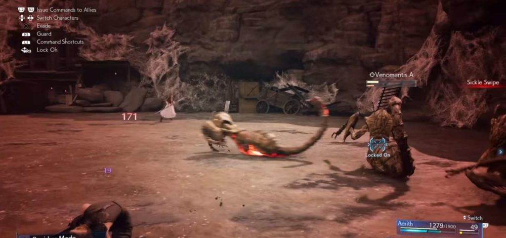 Final Fantasy 7 Remake guida incarichi secondari  Venomantis