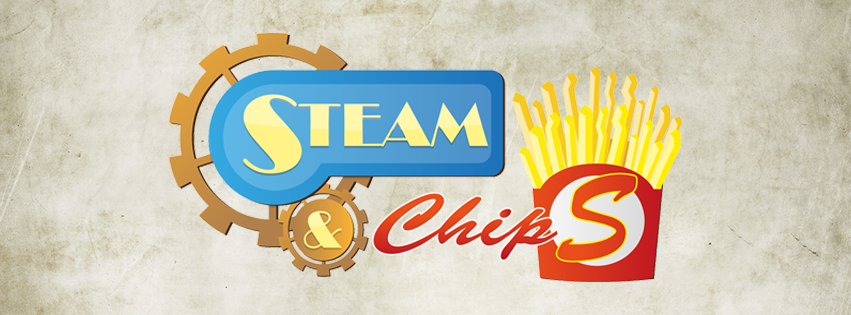 il logo di steam & chips
