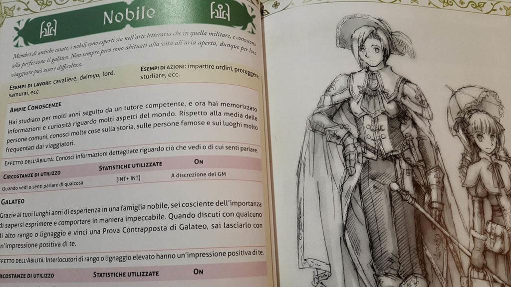Ryuutama personaggi