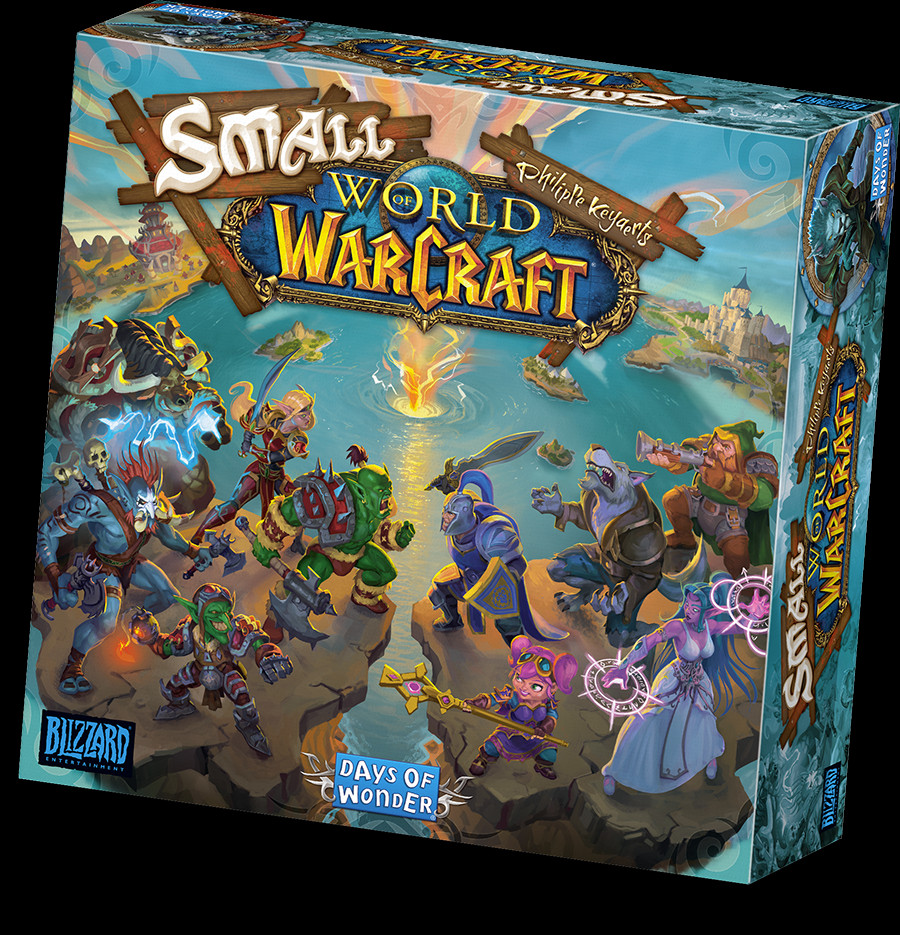small world of warcraft scatola