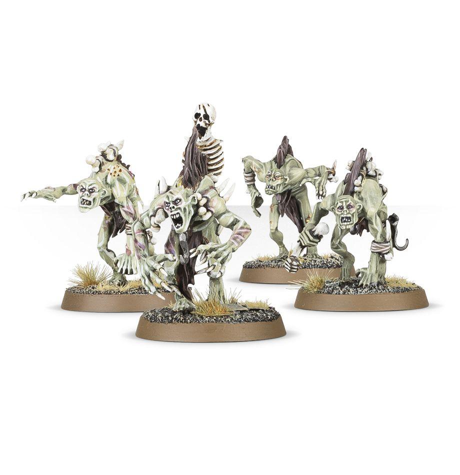 Modelli dei Ghoul delle Cripte