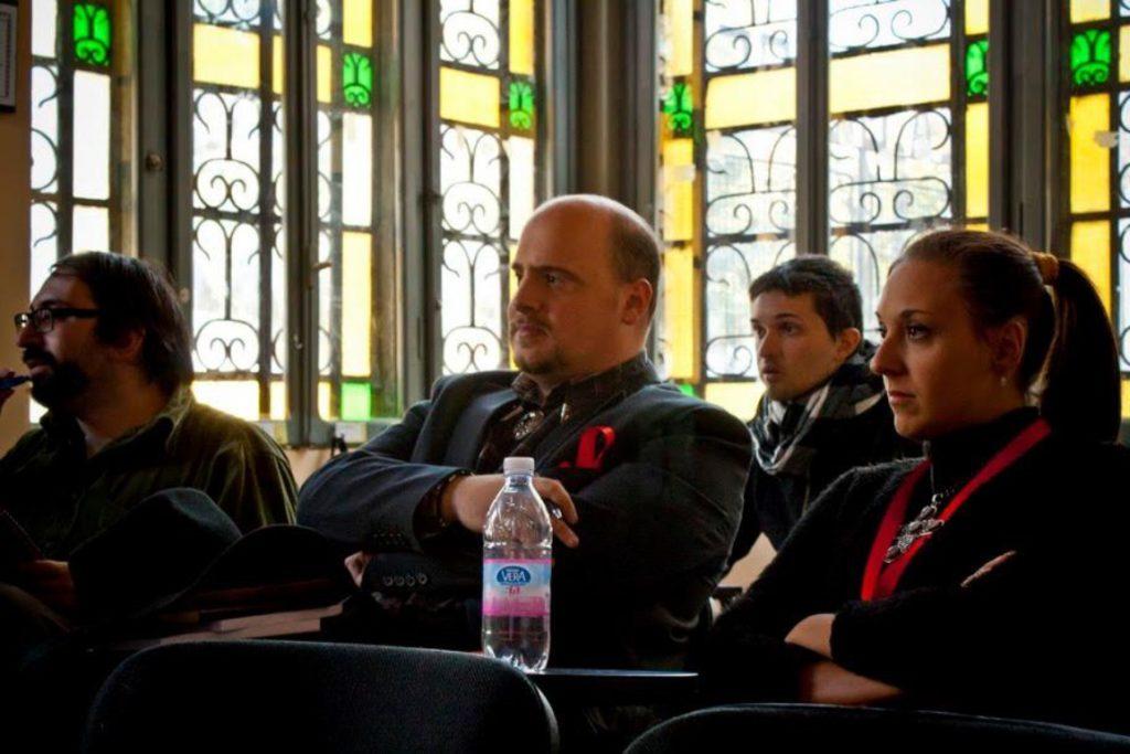 Autori di Ruolo_un d12 domande a Fabio Bottoni, Lucca Comics&Games 2021 Conferenza di Vincent Bake_ con Francesca Marina Costa