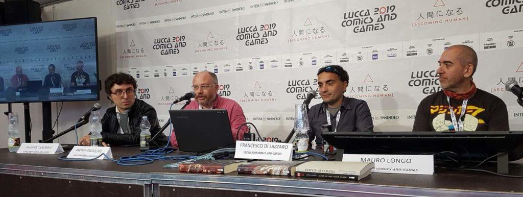 Autori di Ruolo_un d12 domande a Mauro Longo Lucca 2019 con Andrea Angiolino