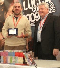 Autori di Ruolo_un d12 domande a Mauro Longo_ Lucca 2009 con Joe Dever