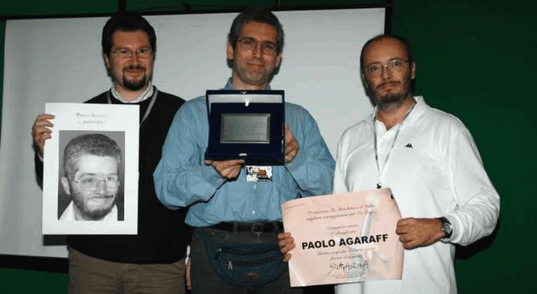 Autori di Ruolo_un d12 domande a Paolo Agaraff_Lucca Comics&Games 2005_premio La maschera e il volto