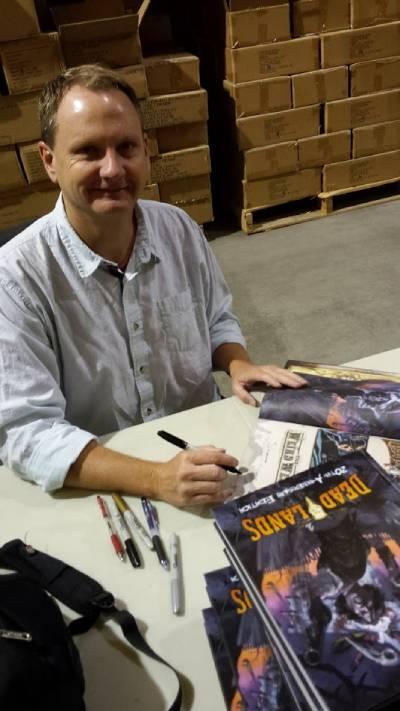 Autori-di-Ruolo_un-d12-domande-a-Shane-Hensley_signing Deadlands_Knoxville, TN