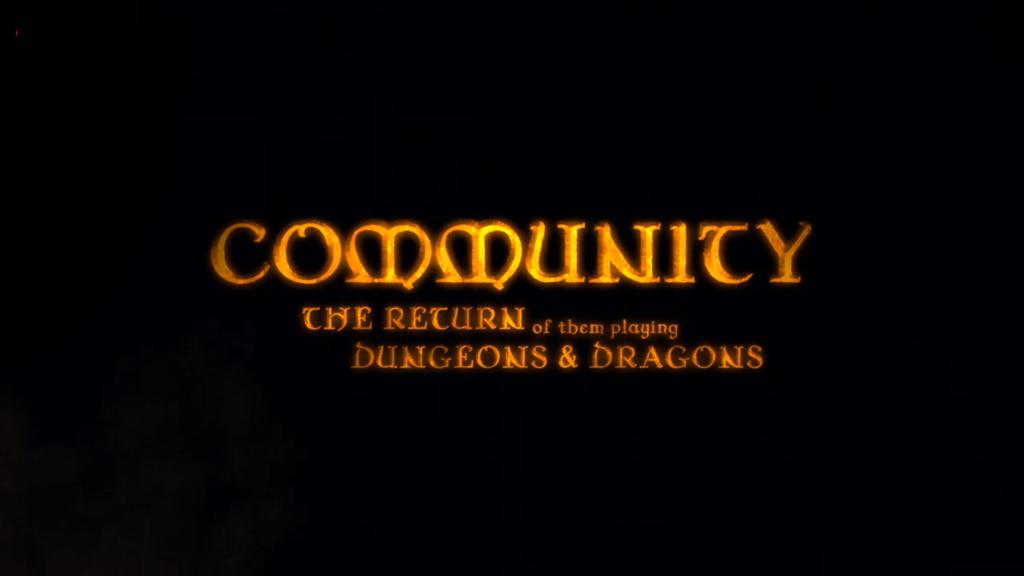 Il logo della seconda puntata a tema D&D
