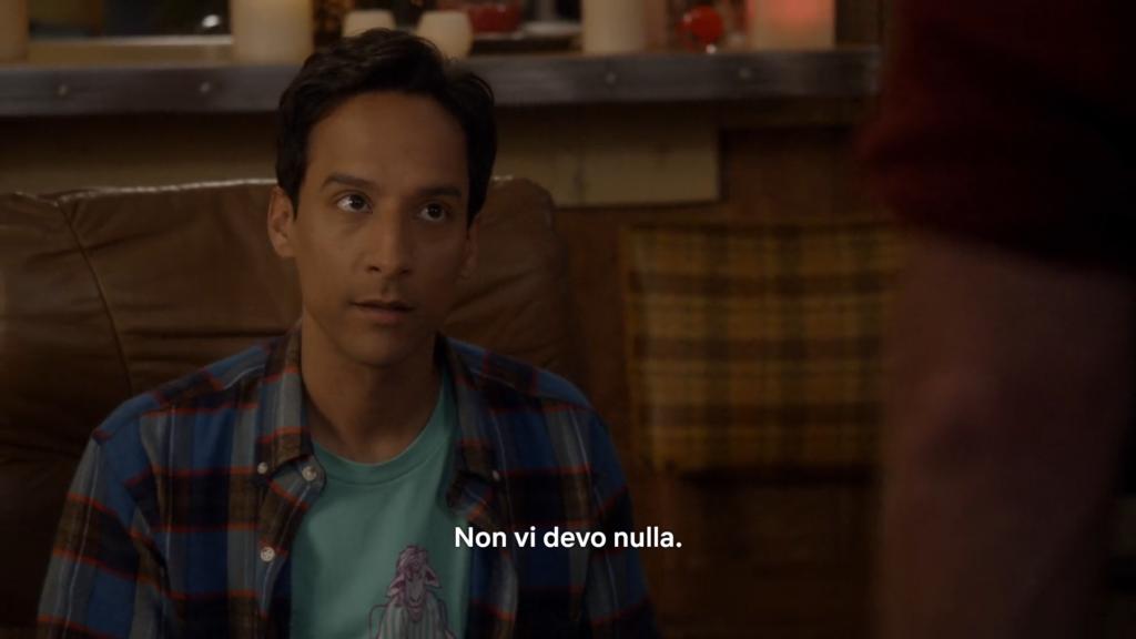 Abed spiega le sue ragioni come dungeon master