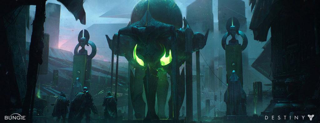 Concept art di Destiny 1 sul Collasso e la Finalità