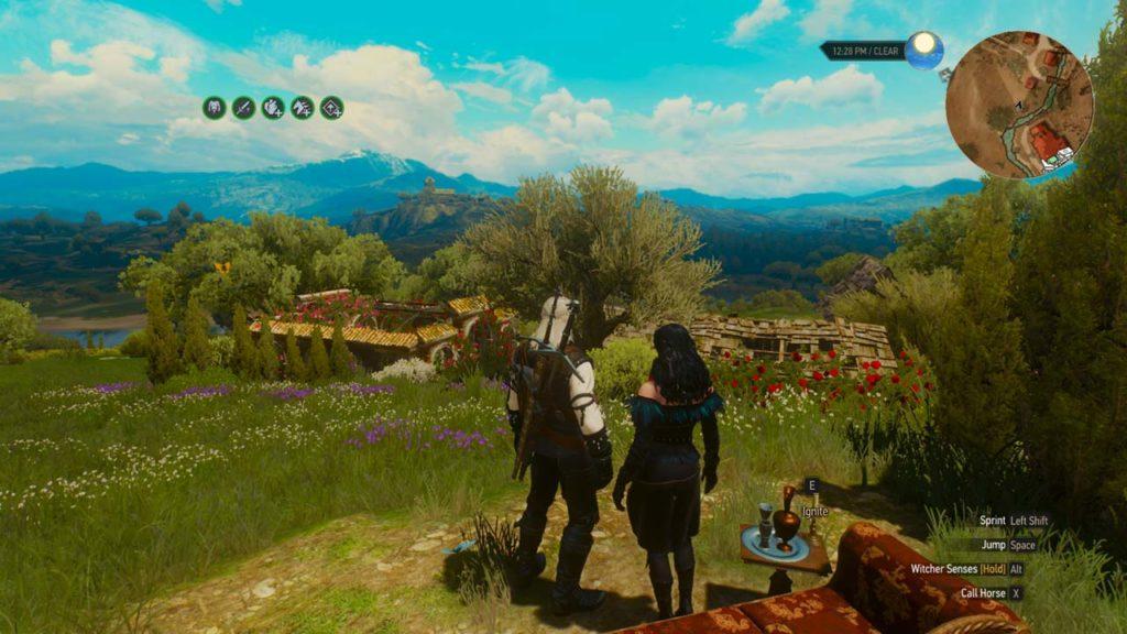 Geralt e Yennefer, finalmente insieme e in pace, nel mio finale di The Witcher 3: Wild Hunt