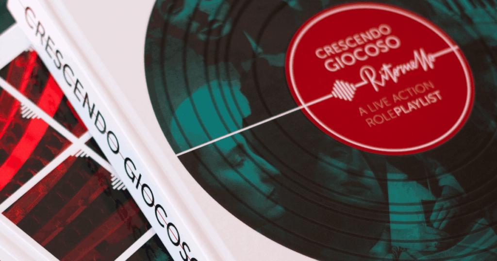 Kickstarter Crescendo Giocoso Ritornello - A Live Action Role-Playlist_ Copertina