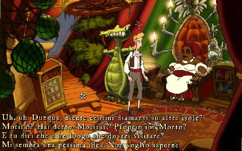 Monkey Island, The Curse of Monkey Island, LucasArts, Guybrush Threepwood