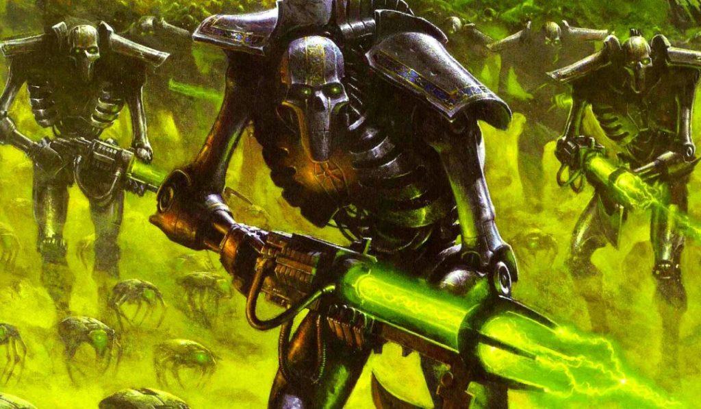 Immagine di un esercito dei Necron