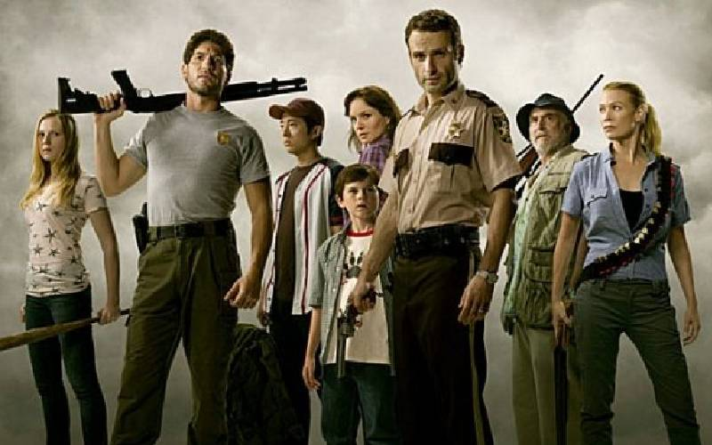 The Walking Dead, Robert Kirkman, AMC