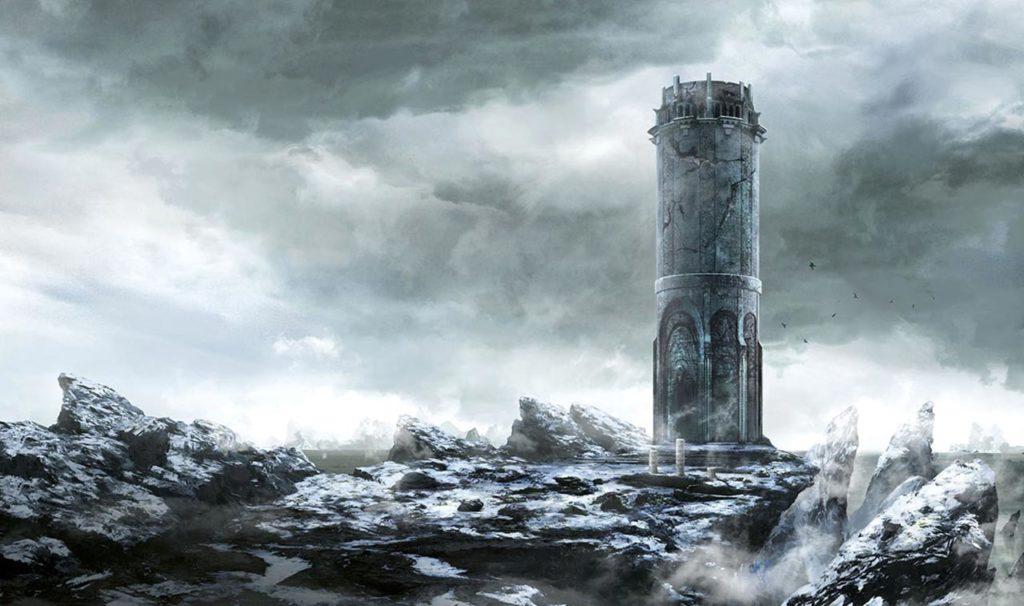 Una delle innumerevoli rovine elfiche visitate da Geralt nel corso delle sue avventure