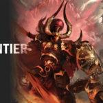 Copertina per collaborazione Frontiere - Warhammer