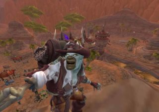 selfie in world of warcraft