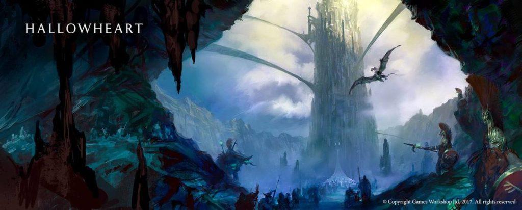 Hallowheart, città nei Reami Mortali di Age of Sigmar