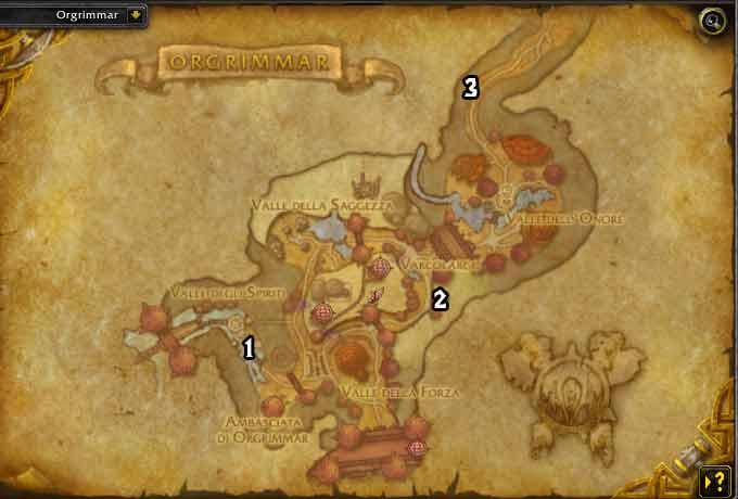 mappa di orgrimmar