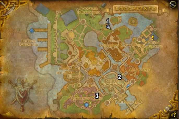 mappa di roccavento