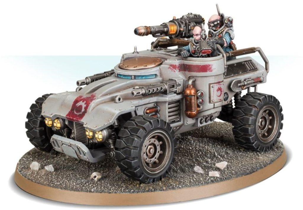 Modello del veicolo Ridgerunner