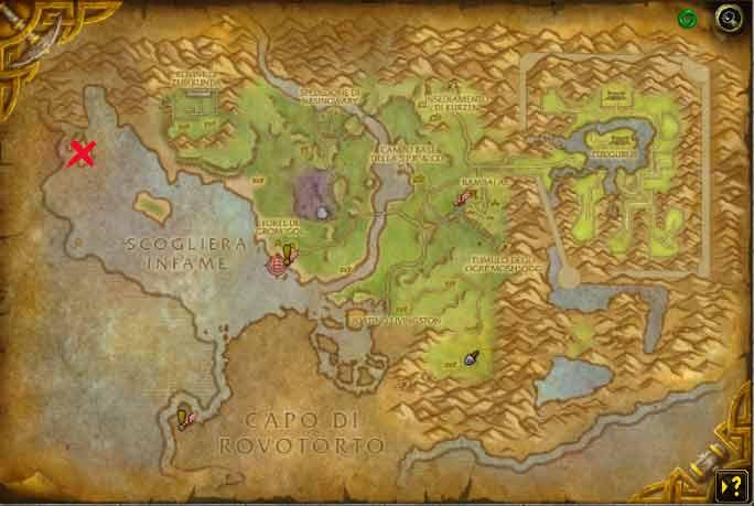 mappa di Rovotorto