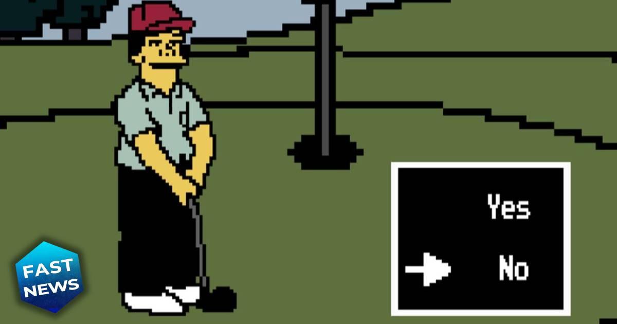 I Simpson, Ammazza che mazza, ammazza che mazza browser game, ammazza che mazza videogioco, Lee Carvallo's Putting Challenge