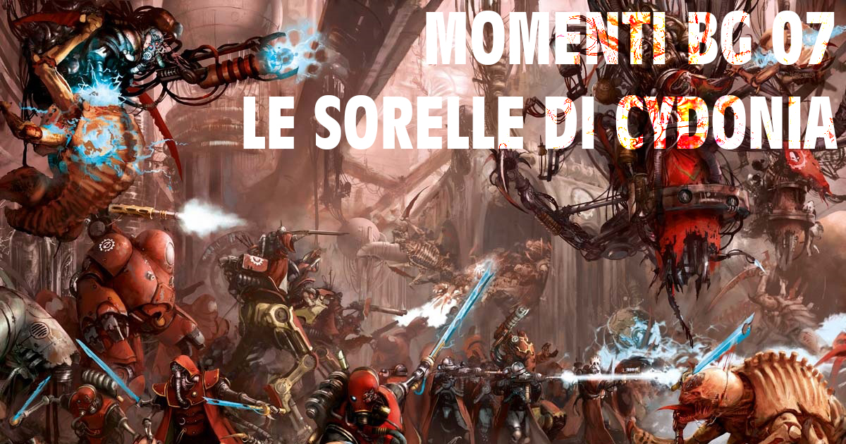 Copertina di Momenti BG 07 Sorelle di Cydonia