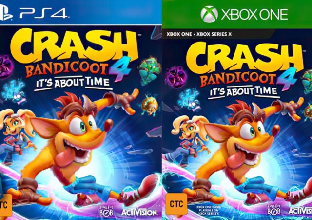 Crash Bandicoot, Crash Bandicoot It's About Time, Activision, PlayStation 4, Xbox, Xbox Series X
