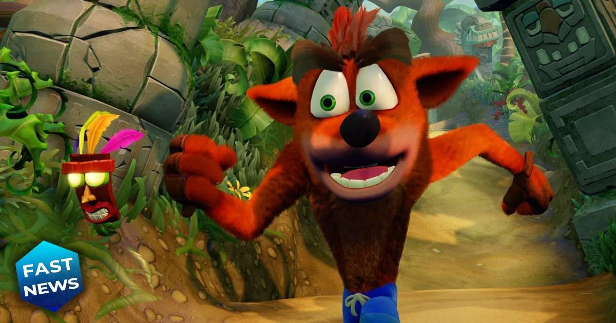 Crash Bandicoot, Naughty Dog, Sony Computer
