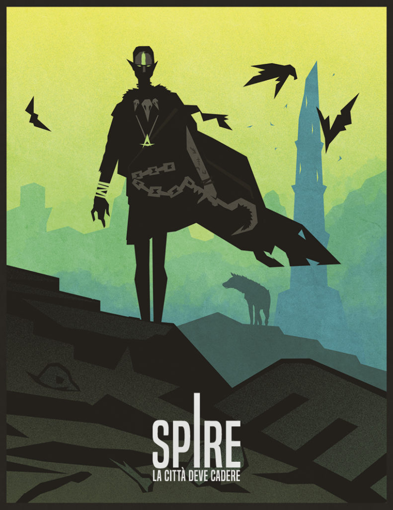 Le illustrazioni di Spire sono minimali ma evocative.