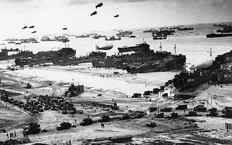 Sbarco in Normandia, D-Day, 6 giugno 1944