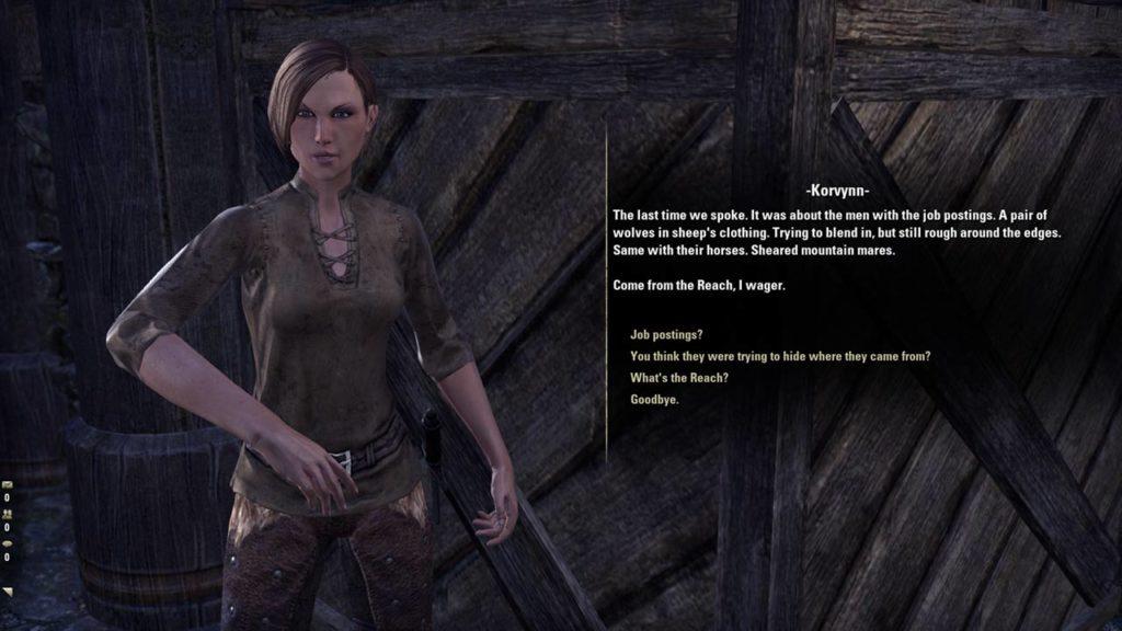 I lunghi dialoghi di The Elder Scrolls Online