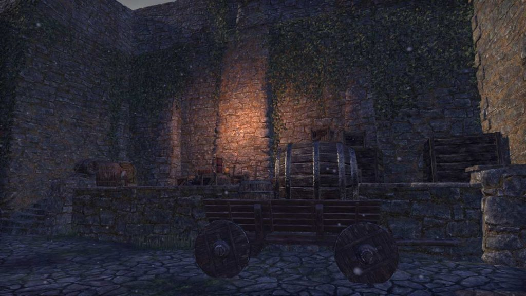 Il cancello di Solitude in ESO Greymoor