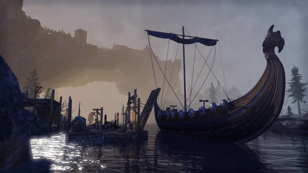Il porto di Solitude in ESO Greymoor
