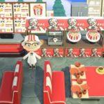 Animal Crossing News Horizons, Animal Crossing, Nintendo, KFC, Kentucky Fried Chicken, Nintendo Switch