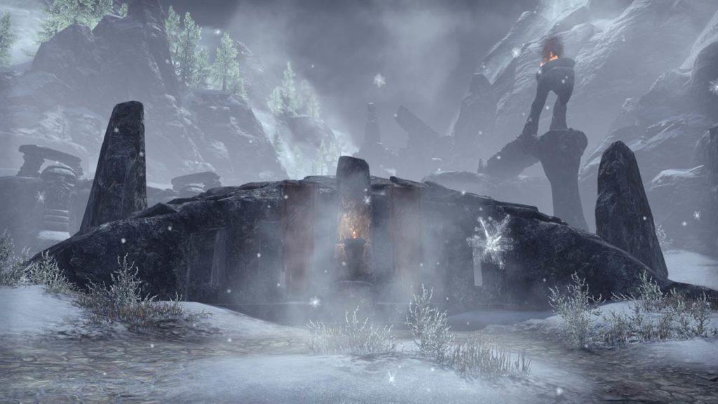 Le rovine di Labyrinthian in ESO: Greymoor