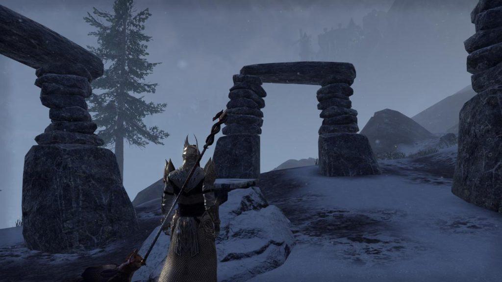 Le rovine e i monumenti preistorici di Skyrim tornano in ESO: Greymoor